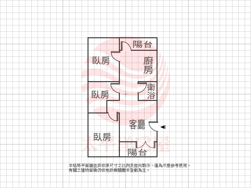 泰山買房賣屋中央市場整理3房,新北市泰山區明志路二段