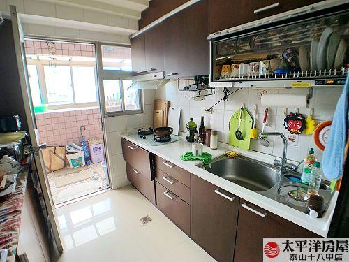泰山買房賣屋雅致低公設大3房,新北市泰山區泰林路二段