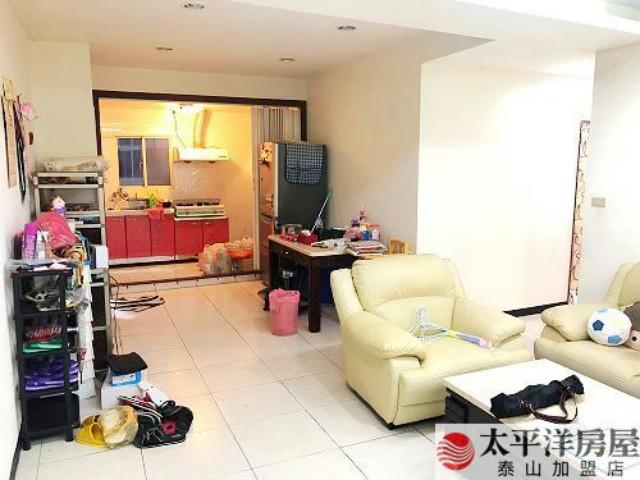 泰山買房賣屋邊間四房低總價三樓,新北市泰山區明志路二段