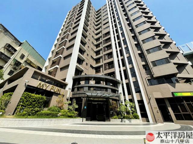 泰山買房賣屋方正挑高三房車,新北市五股區成泰路一段